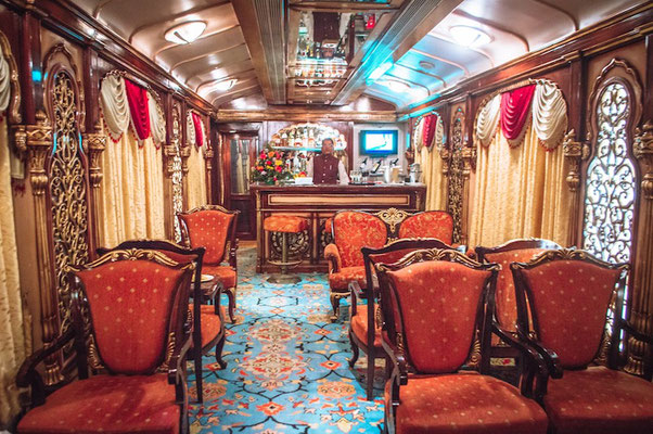 inside the Golden Chariot