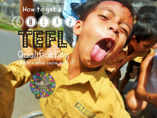 get a TEFL course