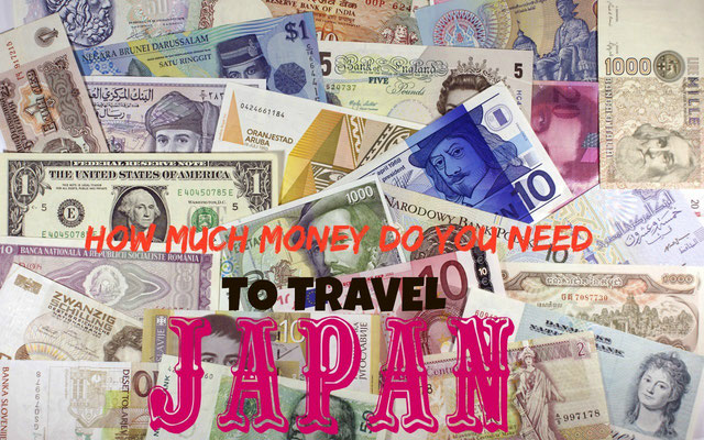 How much money to travel Japan