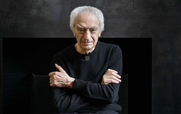 Der Architekt und Designer Massimo Vignelli, New York