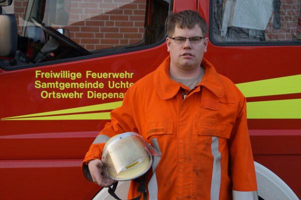 DER GERÄTEWART Der Gerätewart ist für die Pflege und Wartung der Fahrzeuge und Gerätschaften zuständig. Derzeit wird diese Funktion von Lars Windhorst bekleidet.