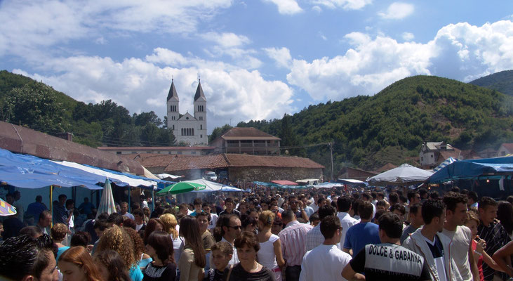 Pilgrimage to the Black Madonna in Letnica / Viti