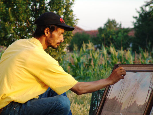Maksut Ibrahimi, painter