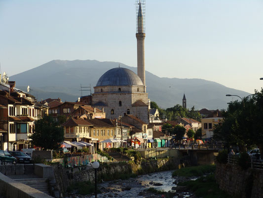 Prizren with the Sinan-Pasha-mosque from the 17th century
