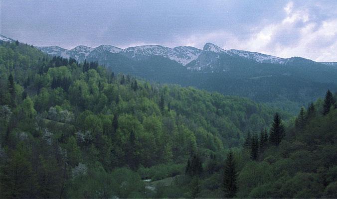 Rugova valley behind Peja