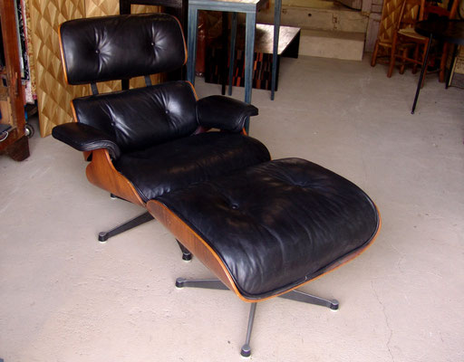 restauration fauteuil Eames