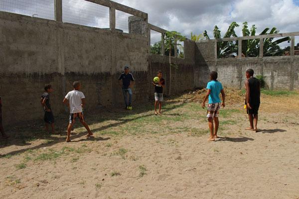 Die sportlichen Aktivitäten litten etwas unter der Hitze.