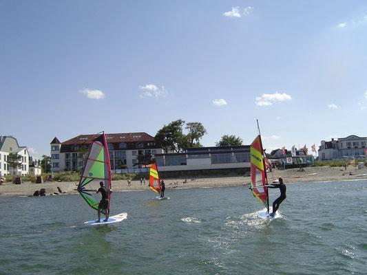 Bild: Spaß in Niendorf