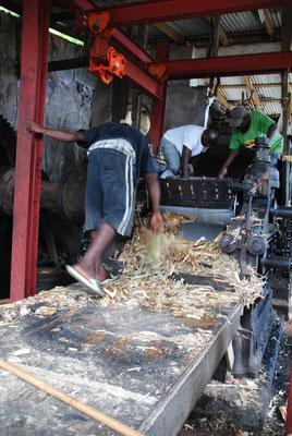 die älteste Rumdestillerie Grenadas