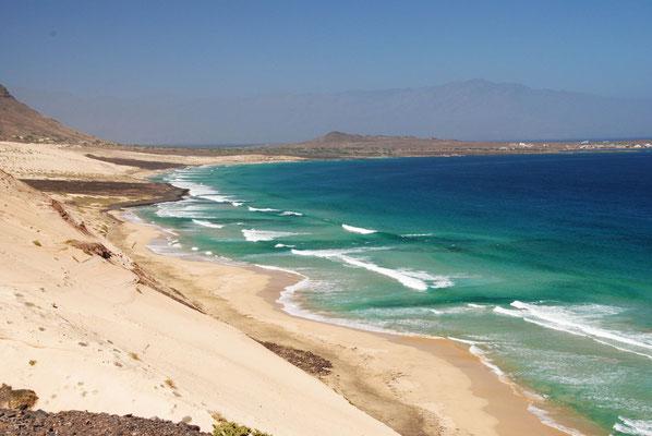 einsamere Strand im Osten der Insel
