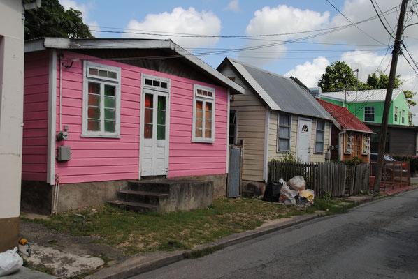 typische Einfamilienhäuser