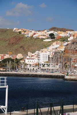 San Sebastian auf Gomera mit Marina