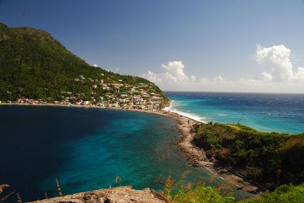 Scotts Head, der südlichste Punkt Dominicas