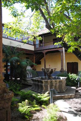 Innenhof vom Turismusoffice