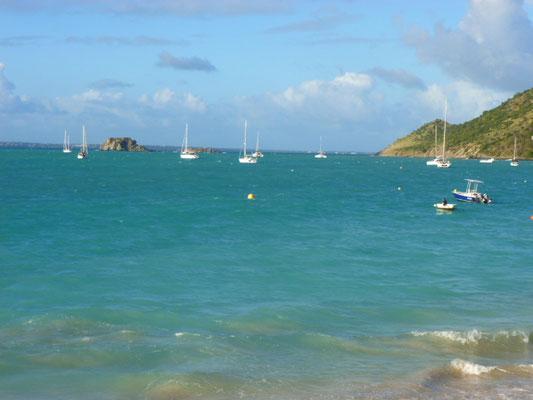 Grand Case Bay auf St. Martin