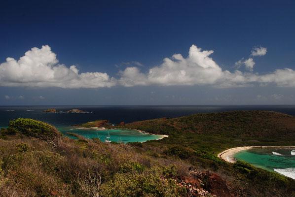 Aussicht vom Leuchtturm Culebrita