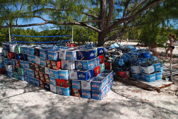 Stocking Island - die Kehrseite: Müll ohne Ende