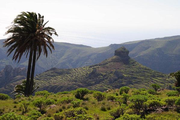Pico Sombrero besteht aus Basalt