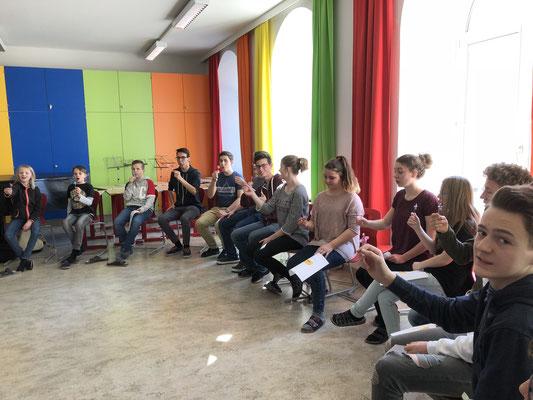 Atem-Workshop am Wimmer Gymnasium Oberschützen
