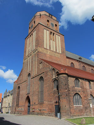 Petrikirche in Wolgast. Quelle: Wikipedia. By Niteshift (Self-photographed) [CC BY-SA 3.0 (http://creativecommons.org/licenses/by-sa/3.0)], via Wikimedia Commons