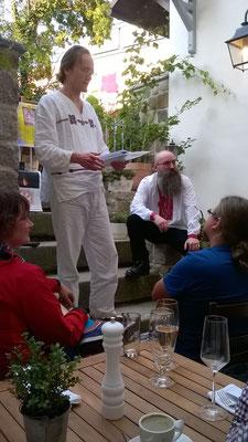 Der tschechische Sprachwissenschaftler Richard Bígl berichtet vom diesjährigen Slawentag in Laibach
