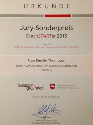 Urkunde-Auszeichnung für Reha-Fashion.de