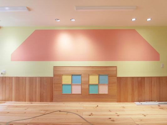 大阪市「ハピオスインターナショナルスクール」/カラーデザイン、カラーコーディネート