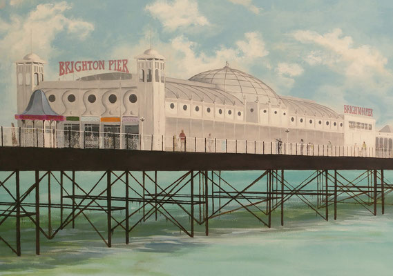 Detail of the Brighton Pier