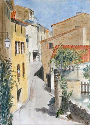 Carrer dels Serrats, Acryl auf Leinwand, 70x50x2 cm