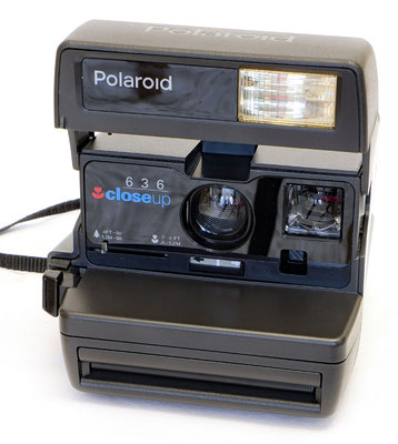 Polaroid 636 Close Up, Polaroid Corporation