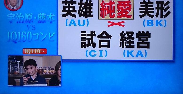 メンサ会員宮地真一が人気テレビ番組『マルコポロリ』出演。MENSA対決企画。超難問謎解きクイズ対決。『IQ160の天才SHIN』として出演。