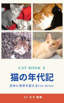 愛した猫、一緒にいる猫、神様のところへ行ってしまった猫、どこかへさまよって消えた猫、私の宝物の猫たちの歴史。