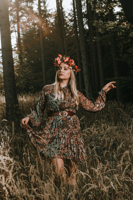 Fashion Shooting im Boho Style