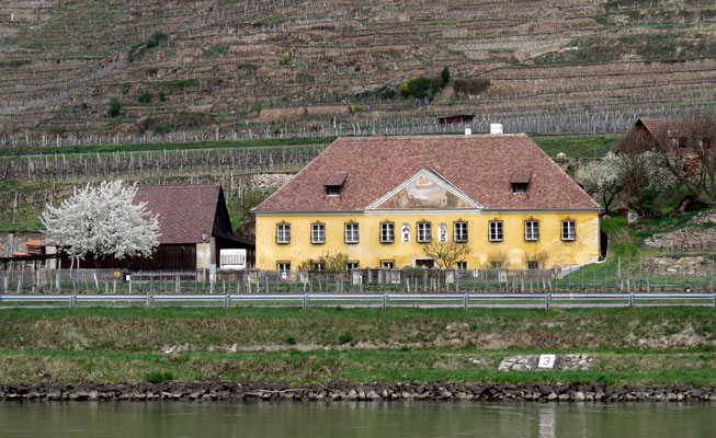 Das für mich schönste Haus gleich zu Beginn in der Wachau.