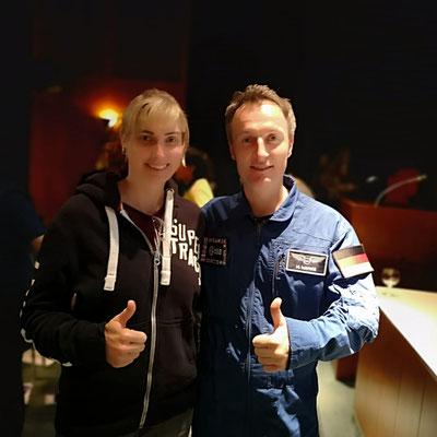 Ich steh ja voll auf Wissenschaft. Dieses Monat war unglaublich spannend. Die erste deutsche Astronautin kennen gelernt und Matthias Maurer. Viel über die Weltraumprojekte der Zukunt gelernt. im Planetarium und im NHM Wien. Genial Danke