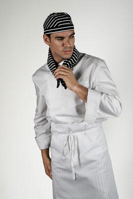 Ropa Básica 01: Gorro, pañuelo, chaquetilla, delantal