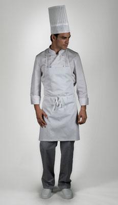 Ropa Básica 05: Gorro, chaquetilla, delantal, pantalón y calzado