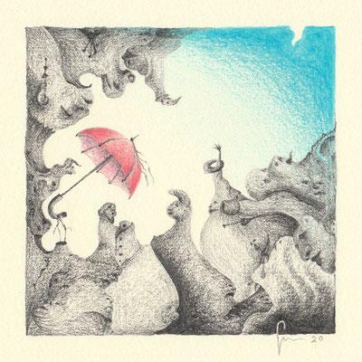 11-Ombrello Rosso
