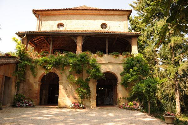 Château du Calaoué©, entrée de la salle de L'An IX