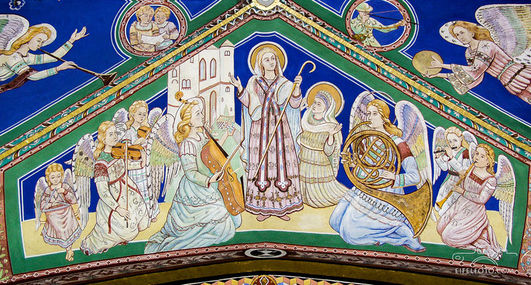 Magnificat mit dem Auszug der Engel