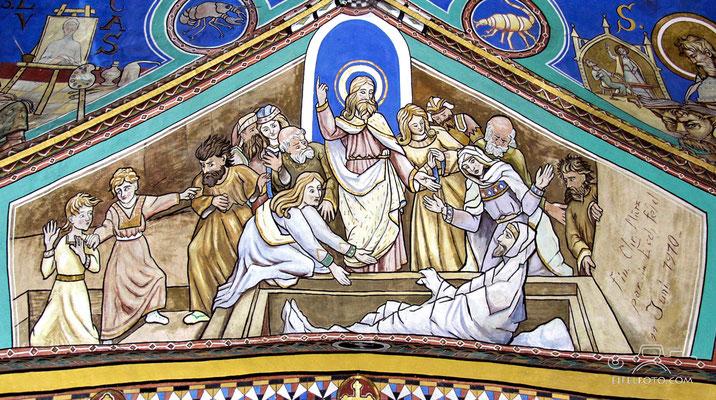 Auferweckung des Lazarus 17.06.1910