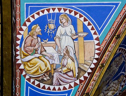 Jesus bei Maria und Martha