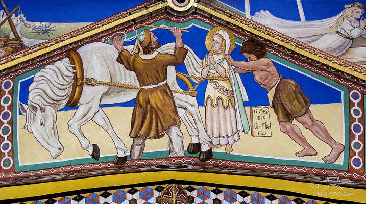 Die gewaltsame Abführung Luzias ist nicht möglich, 11.8.1910
