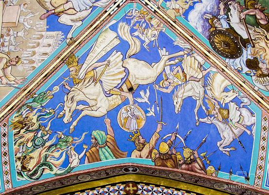Ein himmlischer Reiter (König der Könige) unterwirft die Feinde Gottes, 10.10.1910