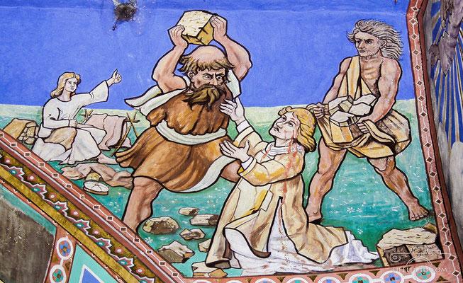 Die Steinigung des Stefanus, 3.-5.8.1910
