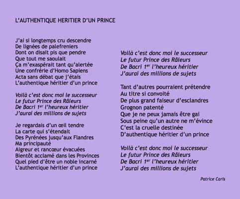 Auteur : Patrice Caris