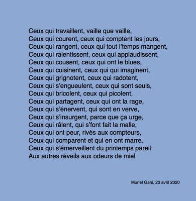Auteure : Muriel Gani