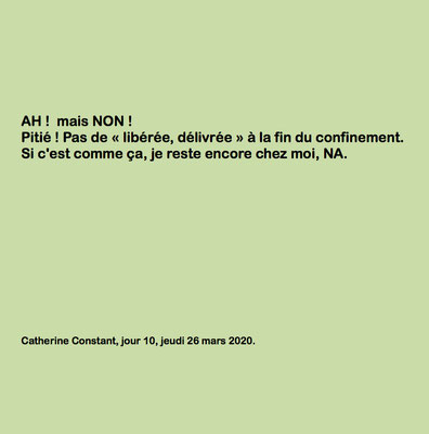 """""""Ah! Mais Non!"""" auteure Catherine Constant"""