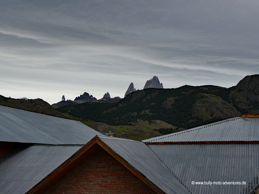 Argentinien - Parque Nacional Los Glaciares - Blick auf das Fitz Roy Massiv