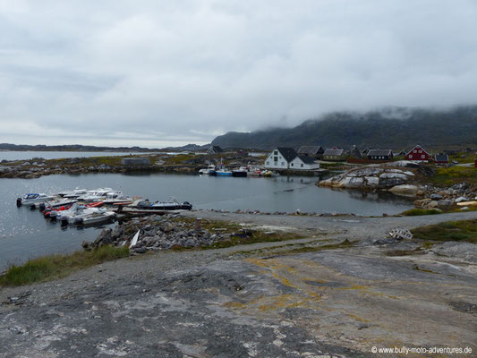 Grönland - Hafen von Nanortalik